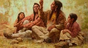 HOMENATGE A LA RESISTÈNCIA INDÍGENA.Avui és també el dia de la resistència indígena. Moltes vegades penso en aquesta gent en harmonia perfecta amb la natura, amb els seus costrumbres i creences, amb la seva cultura i la seva llengua i em fa mal imaginar com l'home blanc va voler canviar tot això i no d'una forma precísamente agradable. Vagi des d'aquí el nostre humil homenatge a la seva gent lluitadores i valentes, els valors haurien de haver-nos fet reflexionar sobre la nostra supèrbia. La cançó ... cantant sota la lluna.