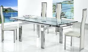 extendable glass table exquisite decoration extendable glass dining room table alluring extendable glass table dining extending