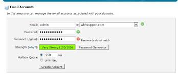 Creating An Email Creating An Email Account Web Hosting Hub