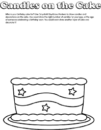 Because the best birthday gift from kids is colored coloring page. Birthday Cake Coloring Page Crayola Com