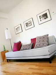 office with daybed. Trendy Living Room Photo In Toronto With White Walls Office Daybed