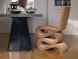 karton cardboard furniture. vitra wiggle side chair karton cardboard furniture a