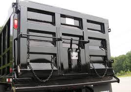 dump body option grain door in tailgate