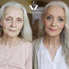 going glam ma makeup tutorial for senior citizens goes viral