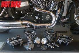 speed spotlight the 106 package for harley davidson twin cam enlarge
