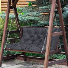 outsunny 2 seater garden bench swing