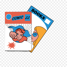 cartoon ic book clip art ic book