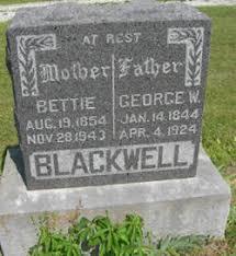 "Margie Ann ""Bettie"" Fink Blackwell (1854-1943) - Find A Grave Memorial"