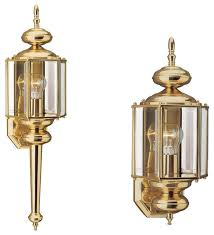lighting fixtures thought provoking brass exterior light