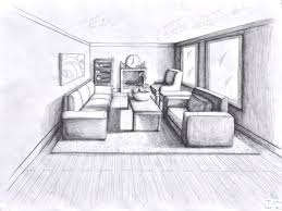 interior design sketches living room. Full Size Of :one Point Perspective Living Room Sketch One Drawing Interior Design Sketches I
