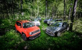 Small SUVs Compared: Mazda CX-3 vs. Fiat 500X, Honda HR-V, Jeep ...