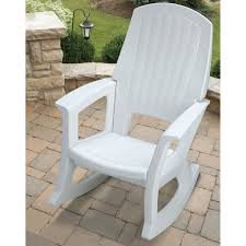 semco recycled plastic rocking chair outdoor rocking white plastic patio rocking chair