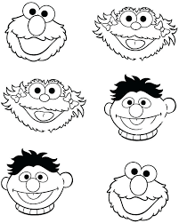 Bert And Ernie Coloring Pages Trustbanksurinamecom