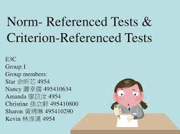 criterion referenced assessment ppt norm referenced tests criterion referenced tests powerpoint
