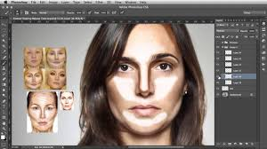 contour shaping photo makeup tutorial