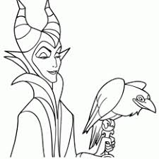 Small Picture Disney Villains Coloring Pages Online