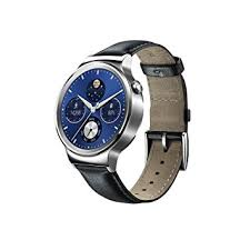 huawei unisex w1. huawei w1 stainless steel classic smartwatch with leather strap [energy class a+++] unisex r
