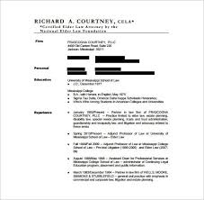 Lawyer Resume Template 10 Free Word Excel Pdf Format Download Legal ...