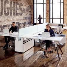 Multiple office workstation ONLINE3 Collection by MASCAGNI ...