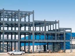 customized prefabricated steel frame