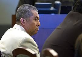 Defendant: Armando Vergara-Martinez appears in court during his trial at the Clark County Regional Justice Center, Tuesday in Las ... - article-0-1BD5CD5700000578-131_634x439