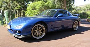 the donor vehicle 2000 mazda rx7 type rs