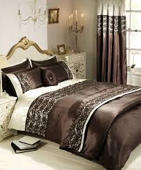 classic bedroom design with brown lace duvet cover set small beautiful rich elegant 7 pc brown gold comforter set queen king size