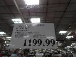 heritage brands sonoma 9 piece dining set costco. hillsdale tremonte dining set costco 1 heritage brands sonoma 9 piece