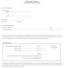 Wedding Photography Agreement Template Wedding Photographer