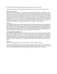 Cover Letter For Postdoc Position In Biology Molecular Biology