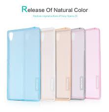 NILLKIN Ultra Thin Transparent <b>Nature TPU</b> Case For Sony Xperia ...