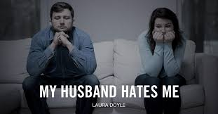 Husbands hates watching wife suck