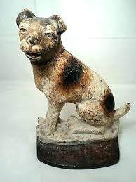 cast iron dog door stopper antique cast iron dog door stop c vine stops doorstops by cast iron dog door stopper