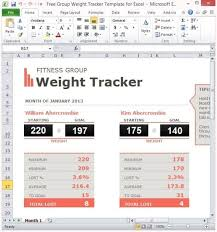 9 Weight Loss Challenge Spreadsheet Templates Excel Templates