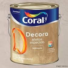 Tinta que imita madeira, da suvinil. Decora Efeito Marmore Recado De Amor 3 9kg Coral Tint