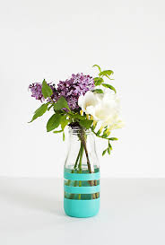 diy office decor. Striped-vase-DIY Diy Office Decor L