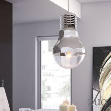 Giant Light Bulb Lamp Gliese Ceiling Lamp 50089 Zuo Mod Metropolitandecor