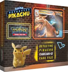 Detective Pikachu Pokemon Trading Cards- Charizard-Gx Case File + 6 Booster  Pack + A Foil Promo Card + A Foil Oversize Card - Walmart.com - Walmart.com
