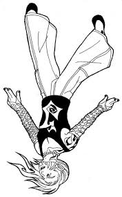 Wwe Jeff Hardy Coloring Pages Coloringstar