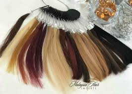Hair Length Sample Chart Hair Color Chart