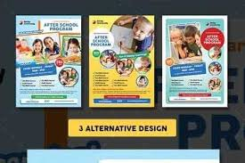 1809116 After School Program Flyer 18411159 Freepsdvn
