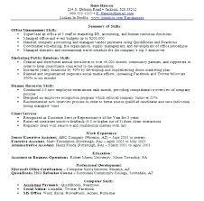 Skills On Resume Examples 10 Computer Skills On Resume Example Far Wake