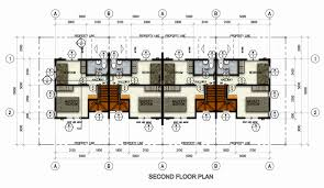row house floor plans beautiful northfield residences a modern new house and lot in