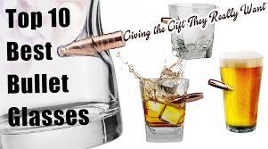 bullet glasses gift ideas whiskey scotch wine novelty surprise elegant best unique good design for dad