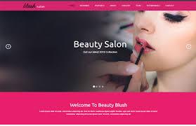 Hair Saloon Websites Beauty Salon Responsive Website Template Free Download
