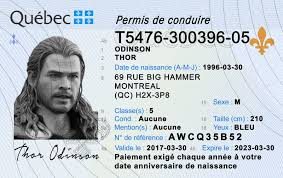 Quebec Id qc Scannable Idviking Best Ids Fake Drivers License -