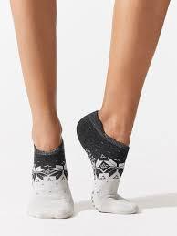 Savvy Leg Warmers Socks In Fair Isle