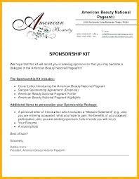 Music Sponsorship Proposal Template Sponsorship Proposal