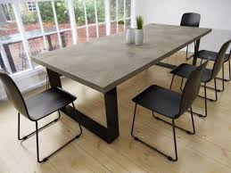discount dining tables melbourne. concrete dining table on a metal base by matt\u0027s benches in australia discount tables melbourne g