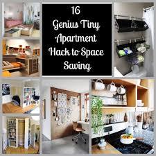 tiny spaces furniture. 16 Genius Tiny Apartment Hack To Space Saving Spaces Furniture